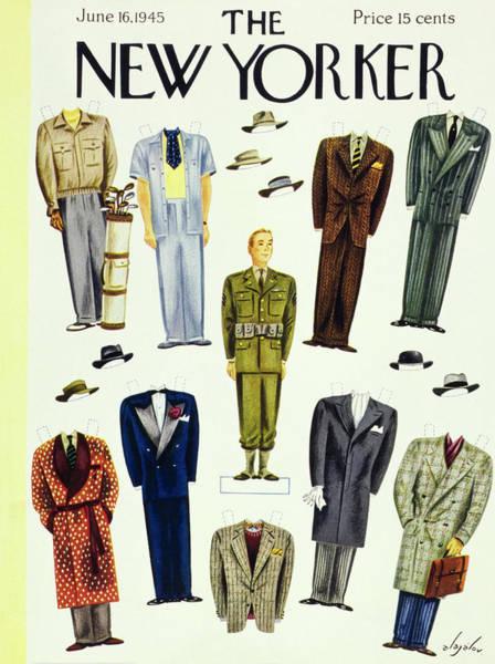 Wall Art - Painting - New Yorker June 16 1945 by Constantin Alajalov