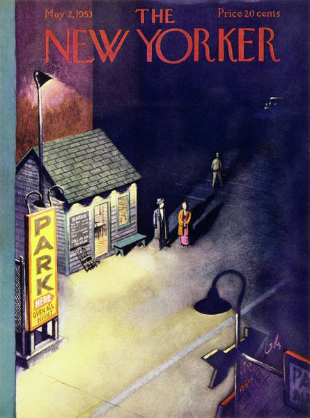 Formal Wear Painting - New Yorker May 2 1953 by Arthur Getz