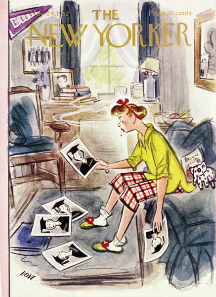 Book Painting - New Yorker May 24 1952 by Leonard Dove