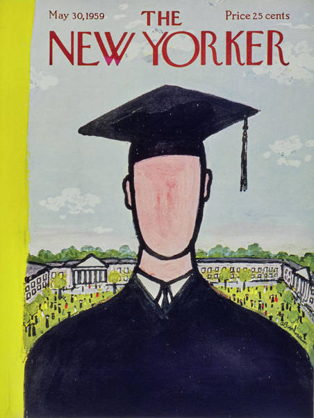 2012 Painting - New Yorker May 30 1959 by Abe Birnbaum