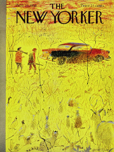 Painting - New Yorker November 15 1958 by Garrett Price