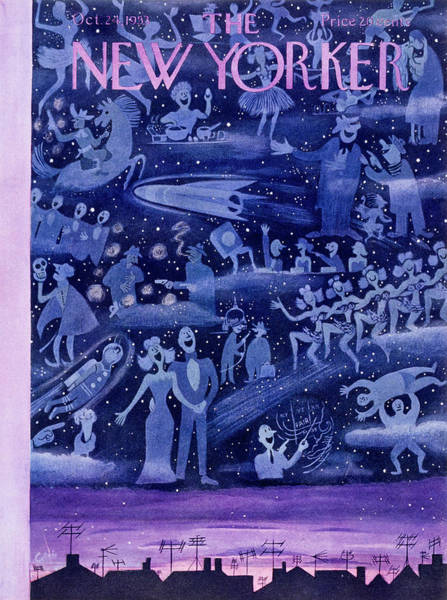 New Yorker October 24 1953 Art Print