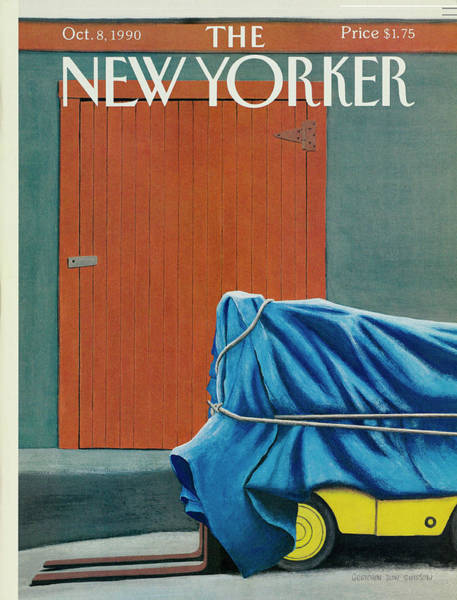 8 Drawing - New Yorker October 8 1990 by Gretchen Dow Simpson