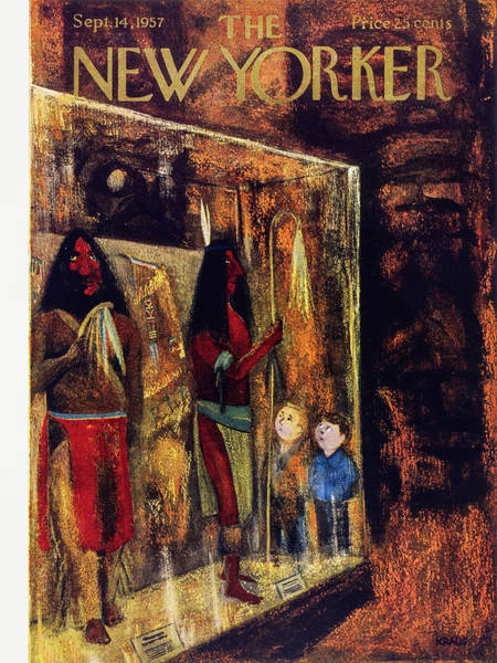 Painting - New Yorker September 14 1957 by Robert Kraus