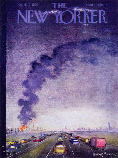 Painting - New Yorker September 17 1955 by Garrett Price