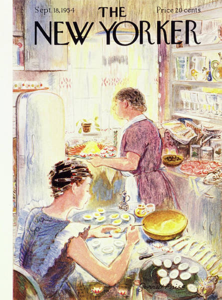 New Yorker September 18 1954 Art Print