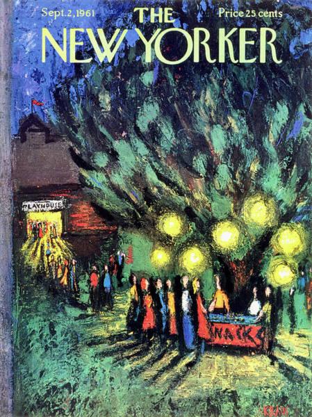 New Yorker September 2 1961 Art Print