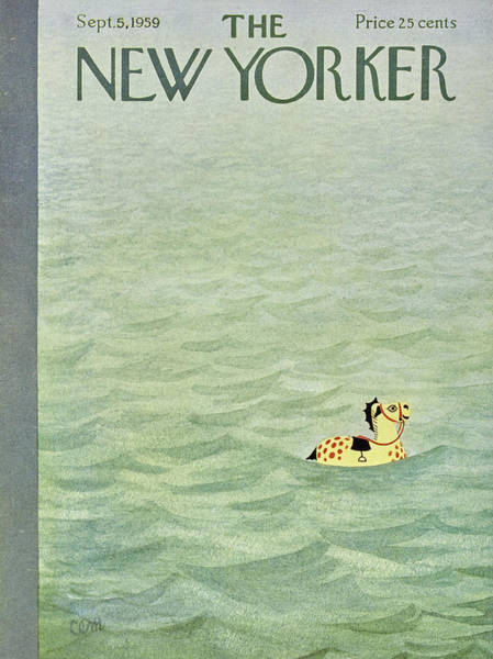 Toys Painting - New Yorker September 5 1959 by Charles E Martin