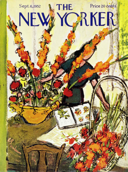 6 Painting - New Yorker September 6 1952 by Abe Birnbaum