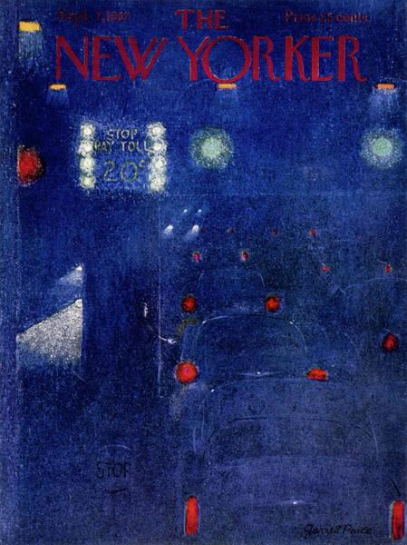 Painting - New Yorker September 7 1957 by Garrett Price