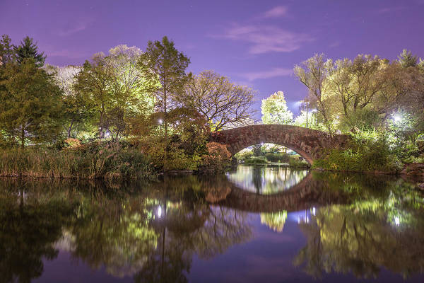 Wall Art - Photograph - New York's Central Park At Night by Paul K Porter