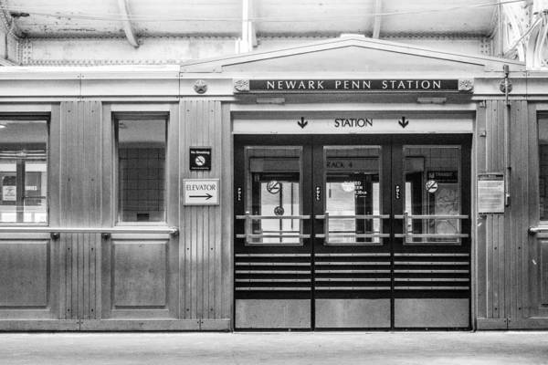Photograph - Newark Penn Station by SR Green