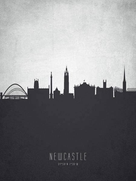 Newcastle England Cityscape 19 Art Print