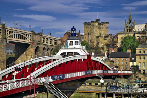 Photograph - Newcastle Upon Tyne Swing Bridge by Martyn Arnold