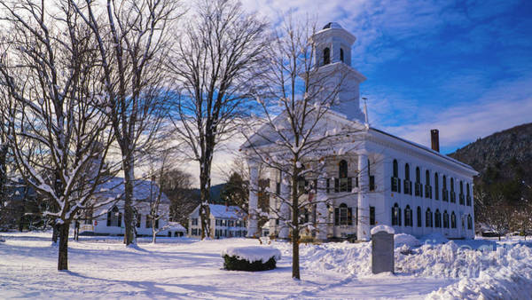 Photograph - Newfane Vermont. by Scenic Vermont Photography
