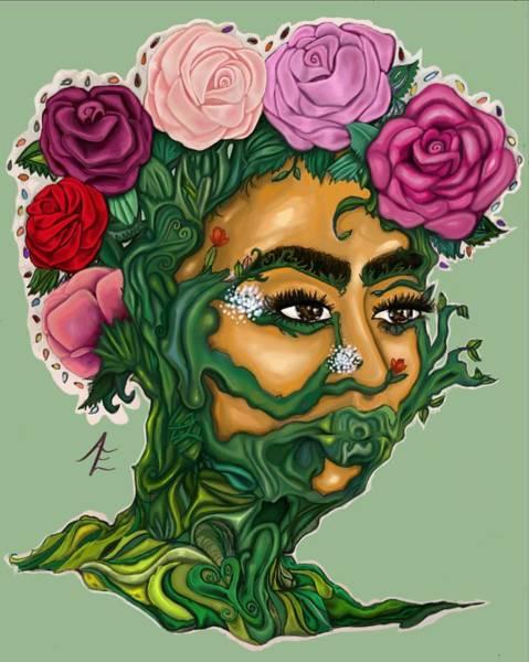 Color Digital Art - Newgrowth by Amber Enadeghe
