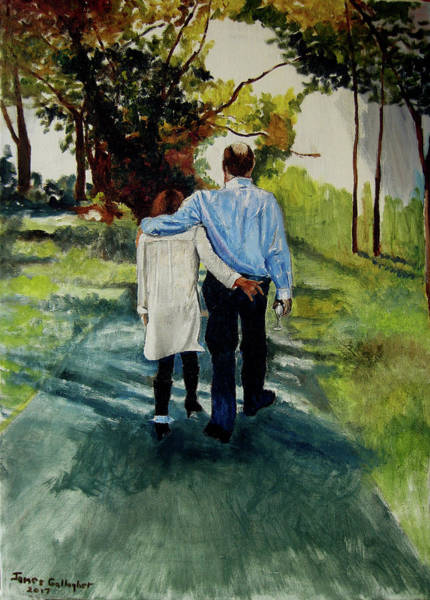Wall Art - Painting - Newly Weds by James Gallagher