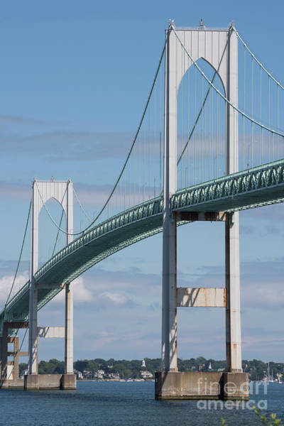 Narragansett Photograph - Newport Bridge by Juli Scalzi