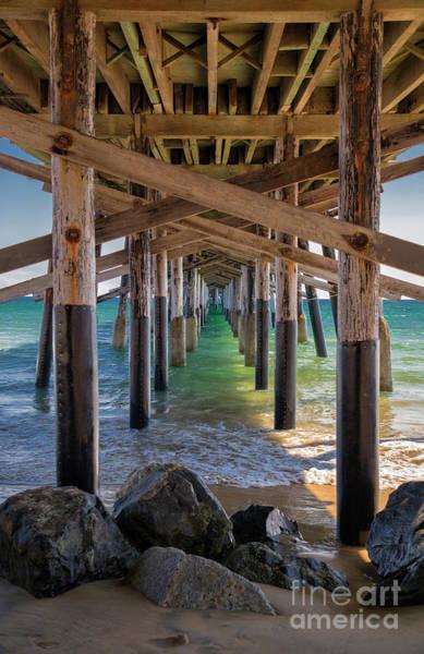 Wall Art - Photograph - Newport Pier by Mariola Bitner