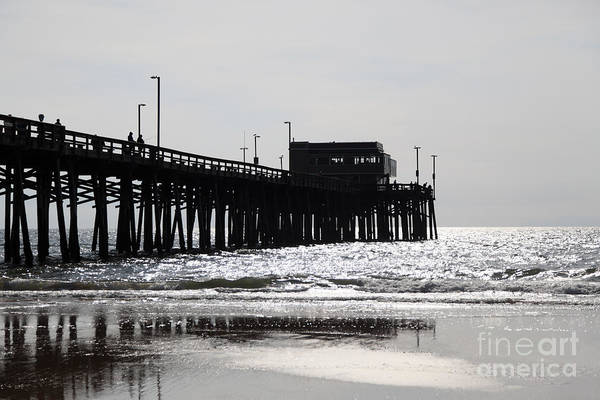 Newport Wall Art - Photograph - Newport Pier by Paul Velgos