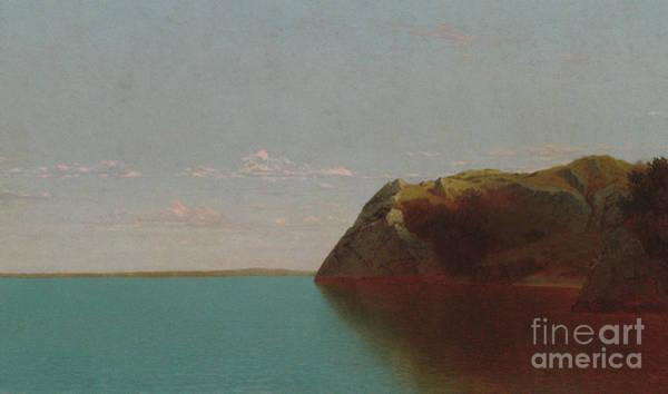 Wall Art - Painting - Newport Rocks, 1872 by John Frederick Kensett