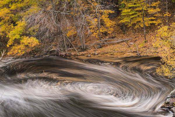 Photograph - Newton Upper Falls Dual Whirlpool Newton Ma by Toby McGuire