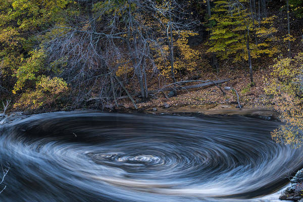 Photograph - Newton Upper Falls Whirlpool Ma by Toby McGuire