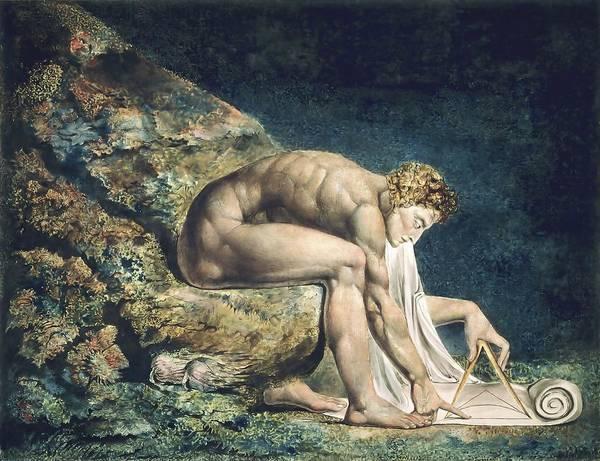 Painting - Newton by William Blake