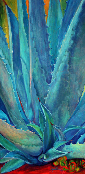 Agave Painting - Next Generation by Athena Mantle