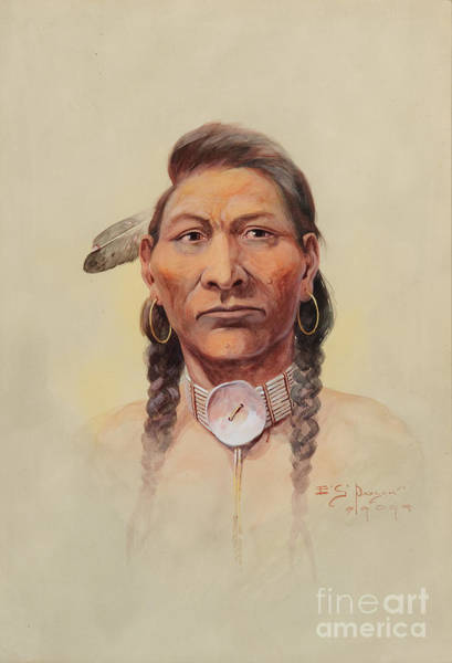 Painting - Nez Perce by Celestial Images