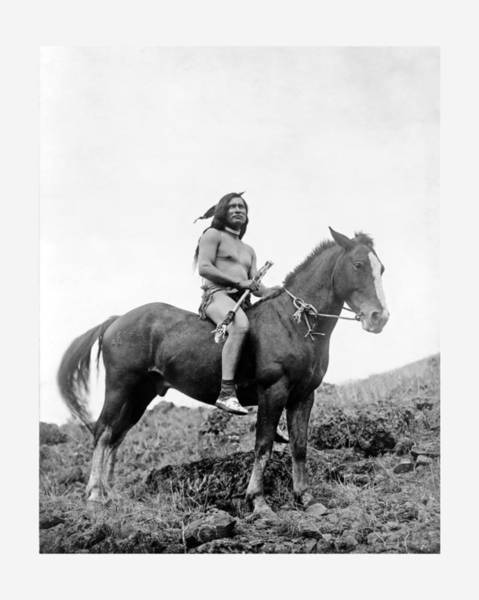 Photograph - Nez Perce Warrior by John Feiser