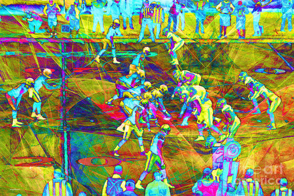 Photograph - Nfl Football Red Zone Dsc3941 20151215 by Wingsdomain Art and Photography