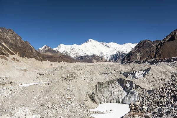 Photograph - Ngozumpa Glacier In Nepal by Didier Marti