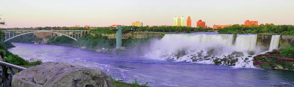 Photograph - Niagara Falls At Dusk by Simply Photos