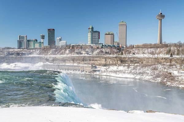 Photograph - Niagara Falls by Framing Places