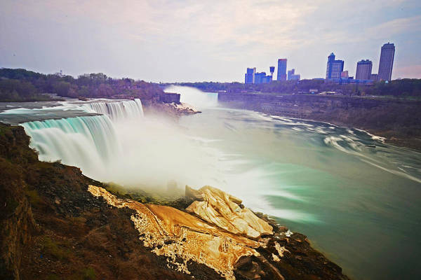 Photograph - Niagara Falls From Us Side by Toby McGuire