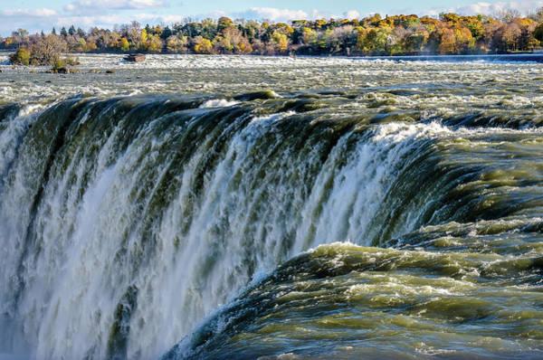 Niagara Falls In Autumn Art Print