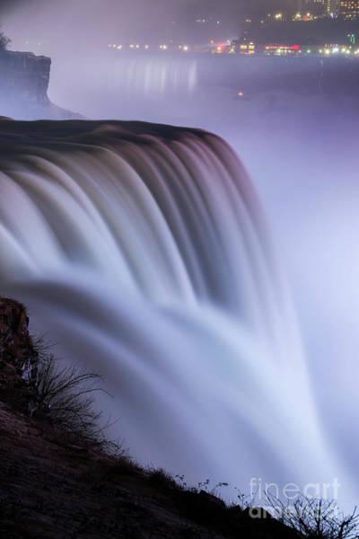 Wall Art - Photograph - Niagara Falls In Motion  by Michael Ver Sprill