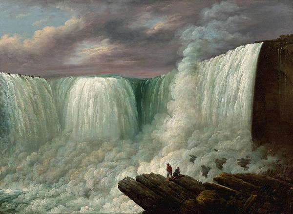 Wall Art - Painting - Niagara Falls by Louisa Davis Minot