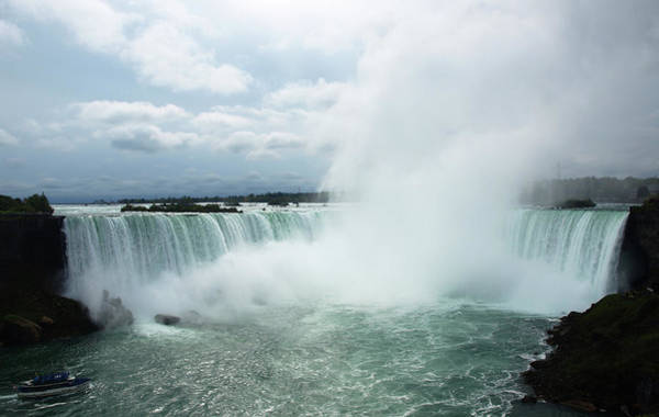 Photograph - Niagara Falls by Mary Capriole