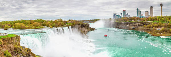 Wall Art - Photograph - Niagara Falls Panorama by Melanie Viola