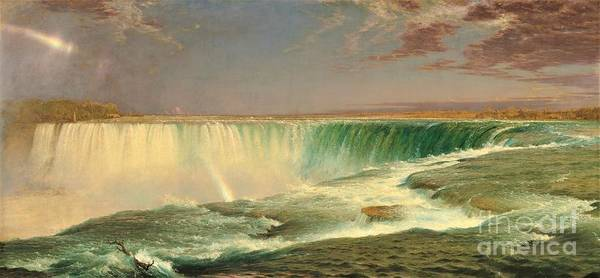 Wall Art - Painting - Niagara Falls by Pg Reproductions
