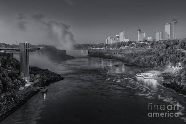 Photograph - Niagara Falls Pre-sunrise II by Clarence Holmes