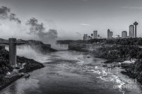 Photograph - Niagara Falls Pre-sunrise Iv by Clarence Holmes