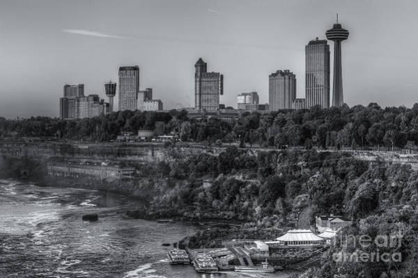 Photograph - Niagara Falls Skyline II by Clarence Holmes