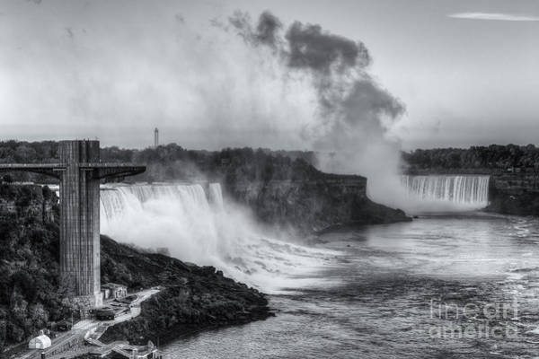 Photograph - Niagara Falls Sunrise Light II by Clarence Holmes