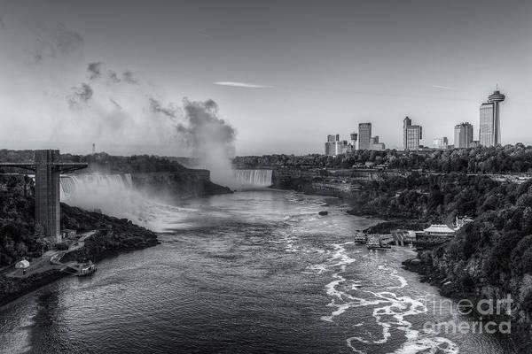 Photograph - Niagara Falls Sunrise Light Iv by Clarence Holmes