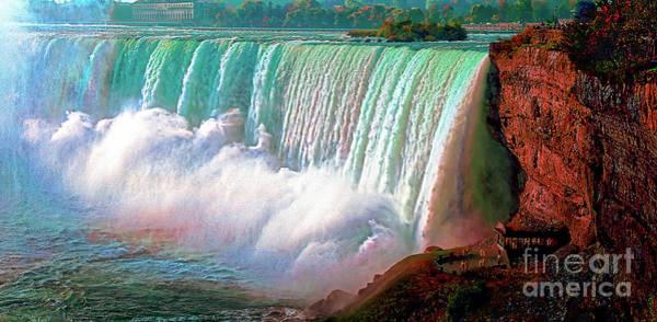Photograph - Niagara Falls by Tom Jelen