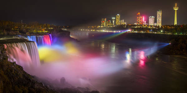 Photograph - Niagara Rainbow by Mark Papke