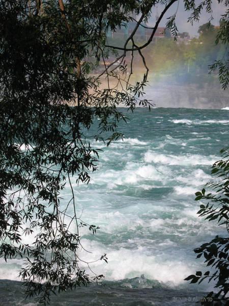 Whitecaps Photograph - Niagara Rapids by Garth Glazier
